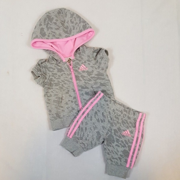 6c5f9ccee adidas Matching Sets | Baby Girl Sweatsuit 3 Mo Ba4 | Poshmark